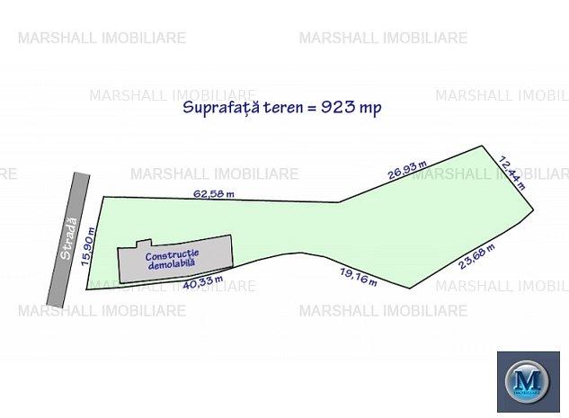 Teren intravilan de vanzare in Bucov, 92: Teren intravilan de vanzare in Bucov, 923 mp