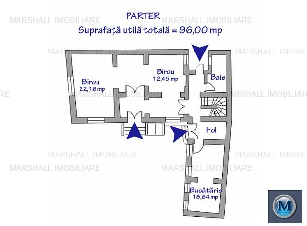 Spatiu  birouri de inchiriat, zona Ultra: Spatiu  birouri de inchiriat, zona Ultracentral, 207.4 mp