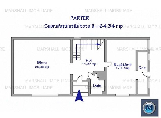 Spatiu  birouri de inchiriat, zona Canta: Spatiu  birouri de inchiriat, zona Cantacuzino, 181.38 mp