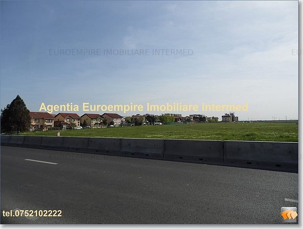 teren de vanzare Constanta zona Boreal - imaginea 1