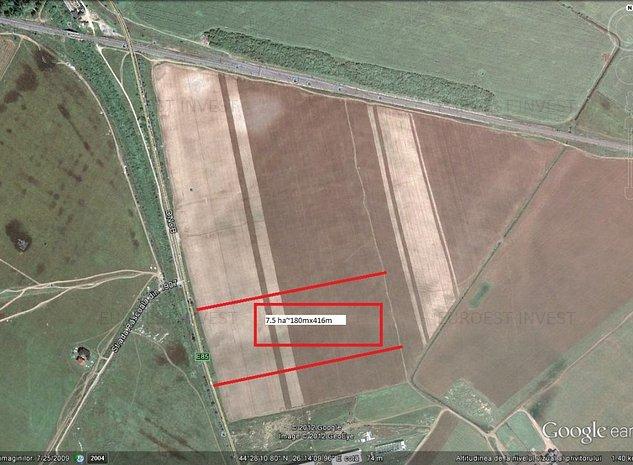Vanzare teren Soseaua de Centura - Pantelimon - imaginea 1