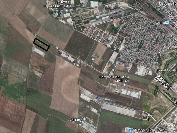 Teren zona industriala Chitila- Sos. de centura - imaginea 1