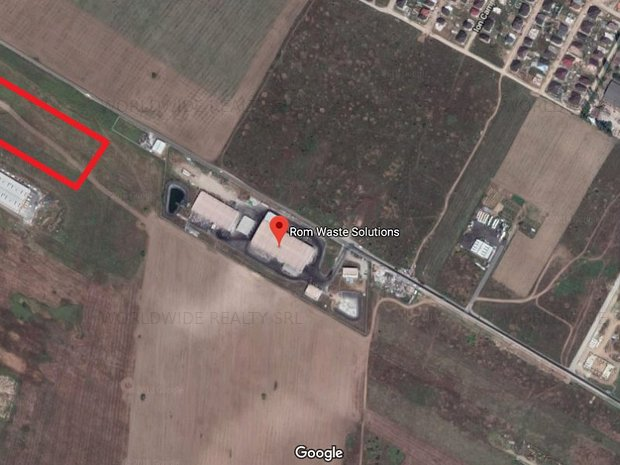Teren zona industriala Chitila- Sos. de centura - imaginea 2