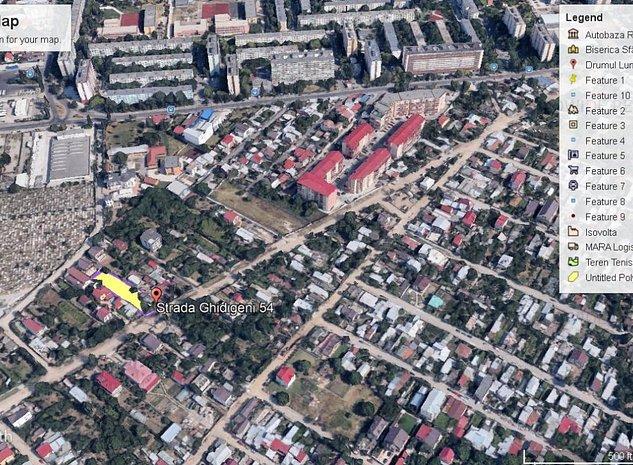 Ghencea-Ghidigeni 1233mp, zona construita, utilitati - imaginea 1