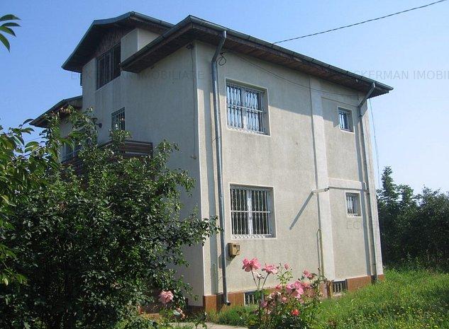 Greaca, vila de vanzare, d+p+1+m, an 2004, teren 650 mp, 61000 euro - imaginea 1