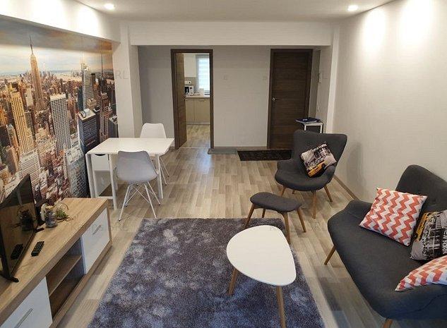 Apart. 3 camere decomandate, mobilat nou, central Sibiu - imaginea 1