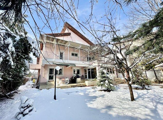 Vila superba de vanzare cu teren de 1015.31 m2 la intersectia cu Iancu Nicolae - imaginea 1