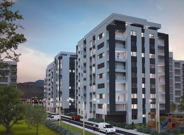 Platinum Residence, Tractorul, apartament 2 camere - imaginea 1