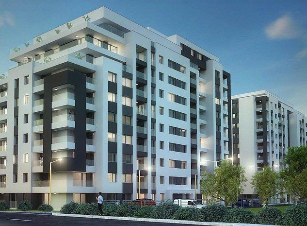 Apartament 62 mp, 2 camere, Tractorul, Platinum Residence - imaginea 1