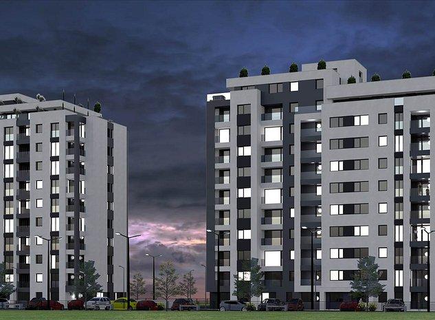 Platinum Residence, apartament 3 camere - imaginea 1