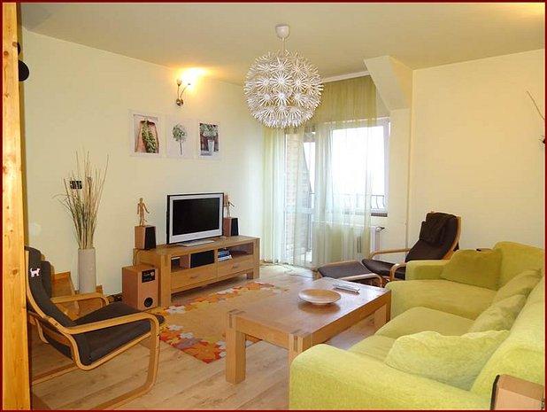Apartament 3 camere Centru Civic, mobilat, Brasov - imaginea 1