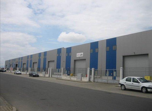 Hala industriala Prejmer, Parc industrial Graells - imaginea 1