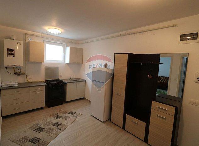 Apartament cu 2 camere la demisol in Buna Ziua. Comision 0% - imaginea 1