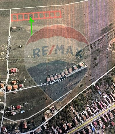 De vanzare teren in Baciu / Strada Cometei COMISION 0% - imaginea 1