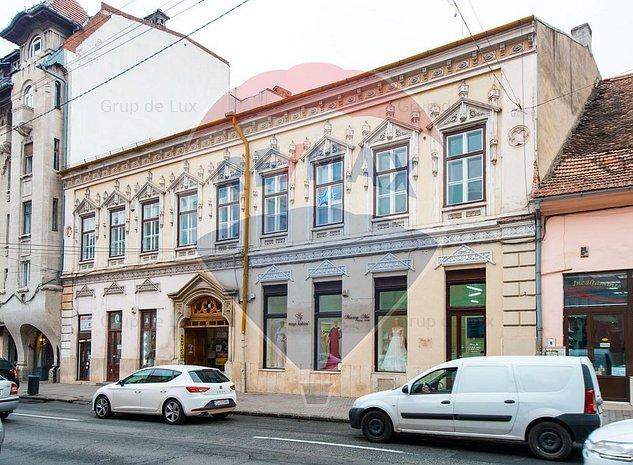 EXCLUSIVITATE RE/MAX! Vanzare imobil istoric din centrul Clujului - imaginea 1