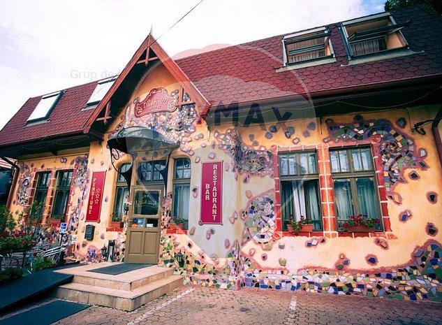 TUR 3D! Pensiune cocheta | 18 camere de vanzare in inima Clujului - imaginea 1