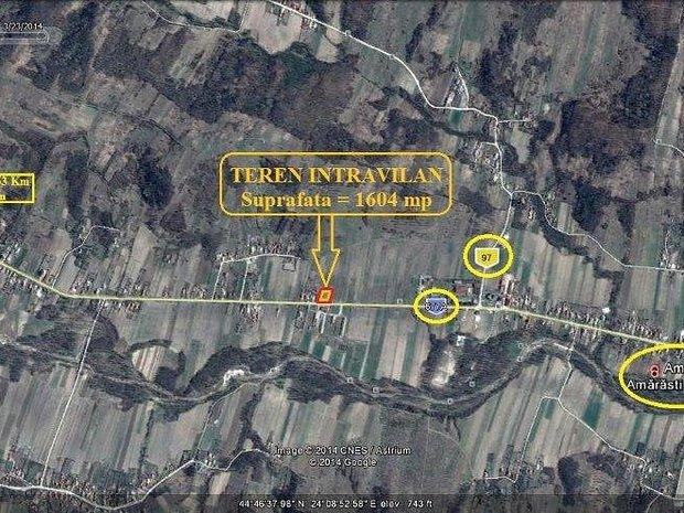 Vand teren 1064 mp, Amaresti-Judetul Valcea - imaginea 1