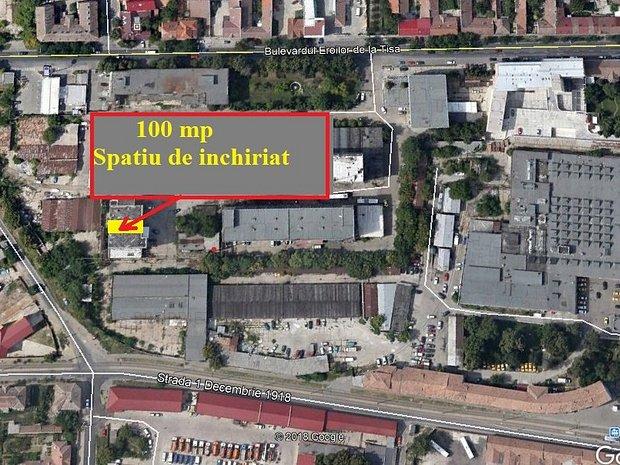 Proprietar inchiries spatiu industrial 100 mp - imaginea 1