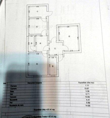 Casa cu teren 187mp, D10ml, fosta Facultate de Medicina - imaginea 1