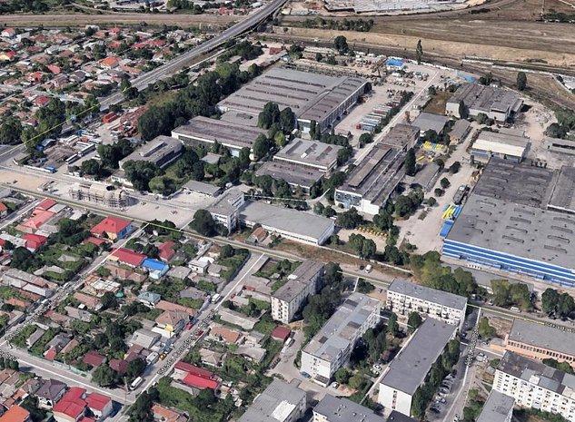 Teren CET-MEDEEA urbanism S+P+2E+3E+terasa - imaginea 1