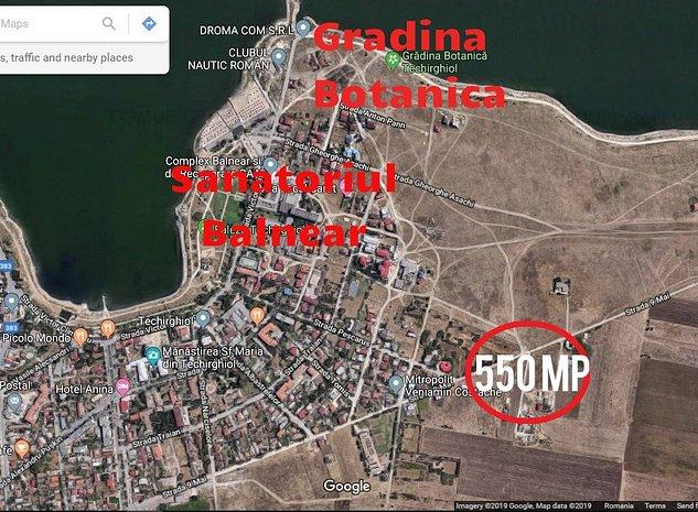 Teren 550 mp, Techirghiol-Unitatea Militara - imaginea 1