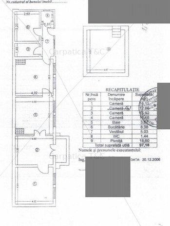 Plantelor - Pta Sf. Stefan, teren 355 mp (+casa demolabila), 560 euro/mp - imaginea 1