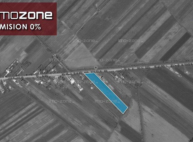 TEREN INTRAVILAN - CREVEDIA MARE- 5000 mp, DESCHIDERE 25 m, 6 EURO/mp - LA SOSEA - imaginea 1