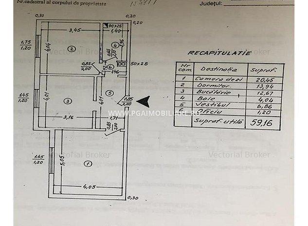 Parter inalt, decomandat, bloc 1986- Colentina Mr. V. Bacila - imaginea 1