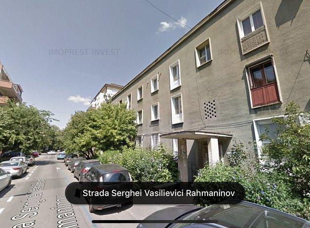 Rahmaninov, etaj 1/2, vedere zona verde, Comision 0% - imaginea 1