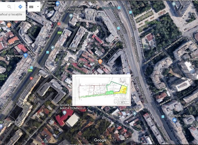 Teren Mosilor adiacent, 200 m de metrou OBOR - imaginea 1