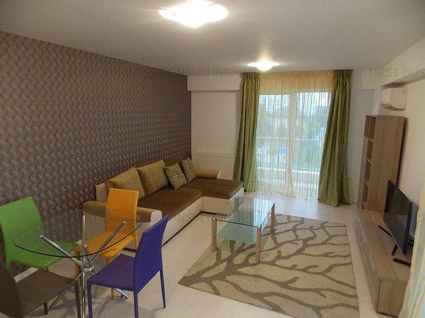 Apartament zona Otopeni (Aeroport) bloc NOU, Mobilata-Utilata MODERN (LUX) - imaginea 1