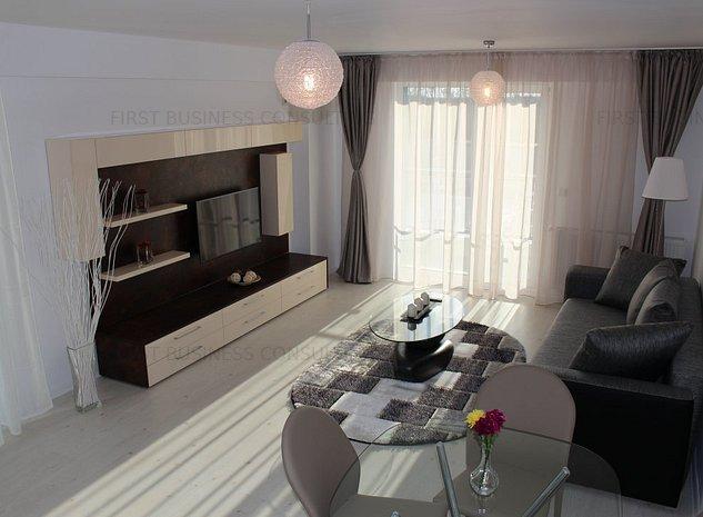 Apartament 2 camere zona Otopeni (Aeroport) bloc NOU, Mobilata-Utilata MODERN - imaginea 1