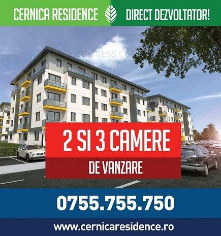 Pantelimon - bloc nou 2019, 2 camere, decomandat, etaj 2 - imaginea 1