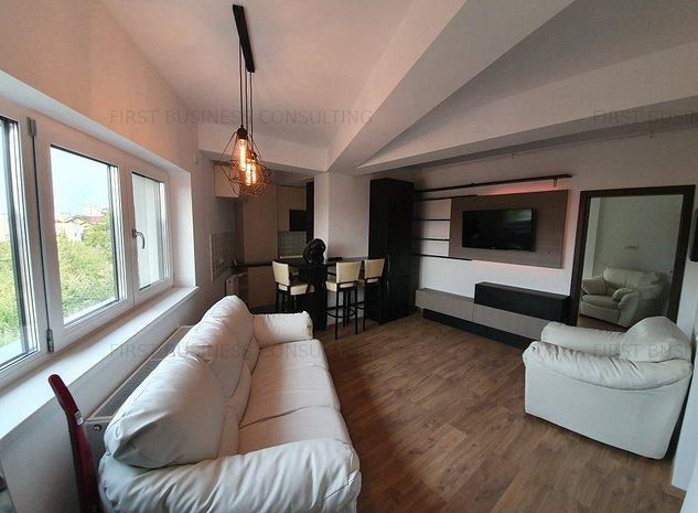 Apartament 2 camere zona Otopeni- Complet Mobilat NOU - imaginea 1