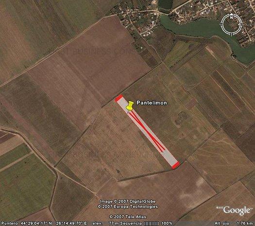 De Vanzare Teren Extravilan 37500 mp. in Comuna Pantelimon-Ilfov - imaginea 1