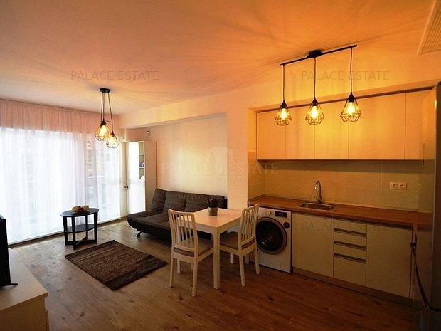Apartament  disponibil pentru inchiriere, localizat in complex securizat. - imaginea 1
