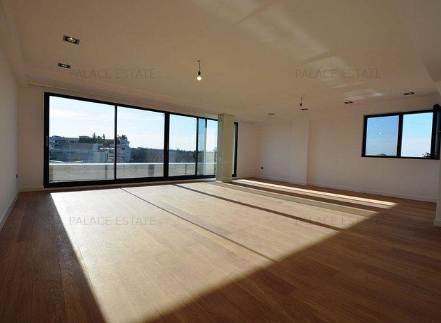 Parc Herastrau | Duplex Penthouse Nou | 241 mp | Vedere parc | Vanzare - imaginea 1