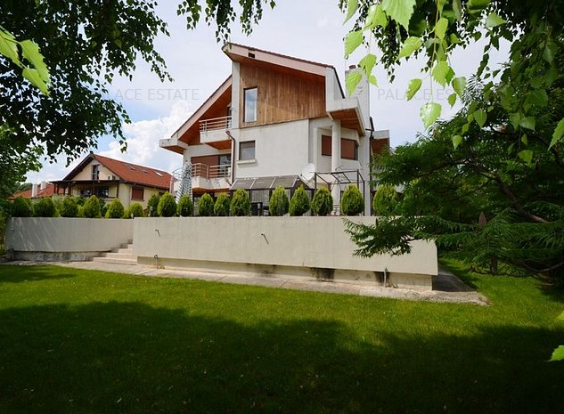Vila individuala situata intr-un complex rezidential, la liziera padurii! - imaginea 1