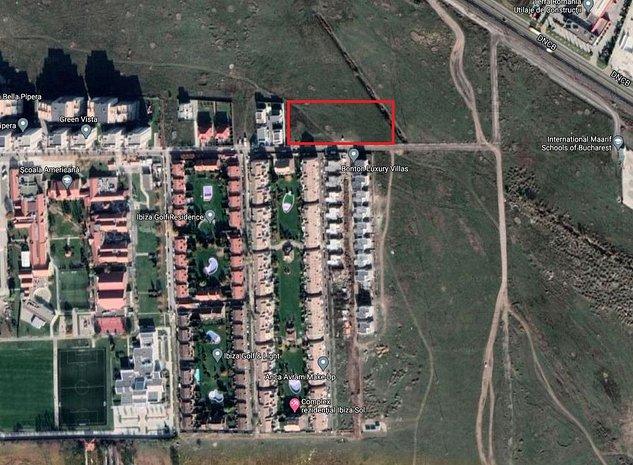 8000 mp teren intravilan langa Complexul Ibiza - zona Pipera - imaginea 1
