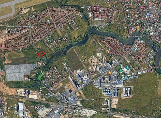 3060 mp teren intravilan - Pipera, Porsche Nord - imaginea 1