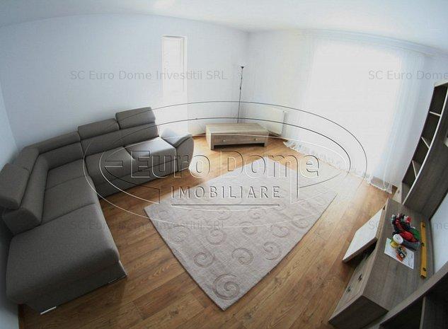 Apartament cu 3 camere Mall Coresi  mobilat si utilat complet nou - imaginea 1