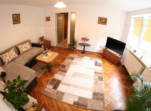 Centrul Civic apartament  amenajat cu bun gust - imaginea 1