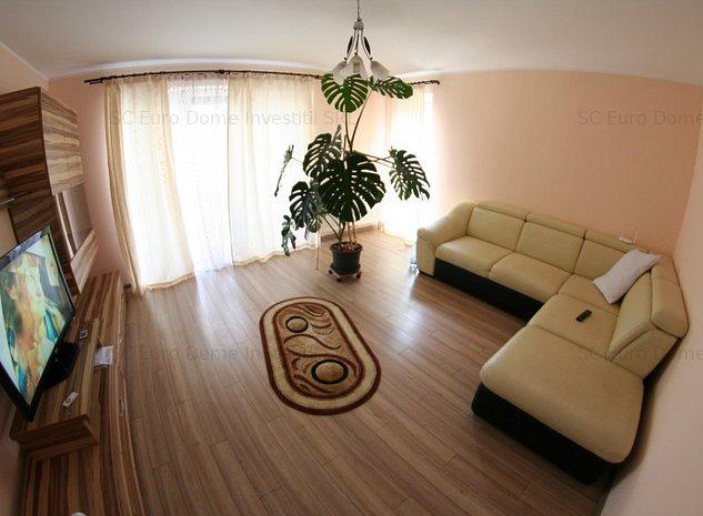 Apartament mobilat si utilat complet si modern in blc nou - imaginea 1