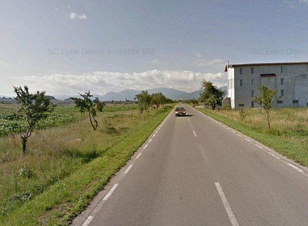 Teren parcelabil cu front mare la drumul Sanpetru - Bod - imaginea 1