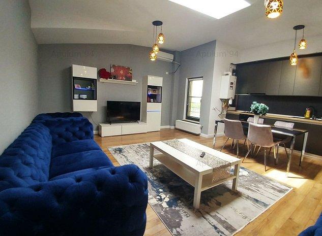 Apartament cu 2 camere | LUX | Mobilat si utilat complet | Damaroaia - imaginea 1