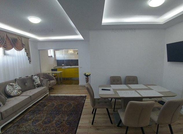 Apartament cu 3 camere | Mobilat si utilat | Metrou Bucurestii Noi - Parc - imaginea 1