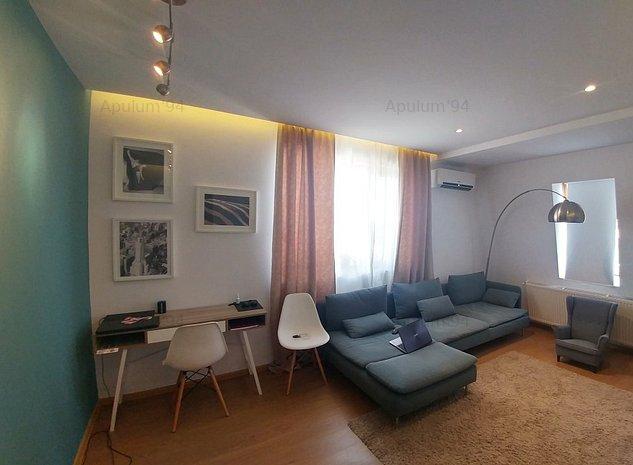 Apartament cu 3 camere | Mobilat si utilat complet | JIULUI - Piata Presei - imaginea 1