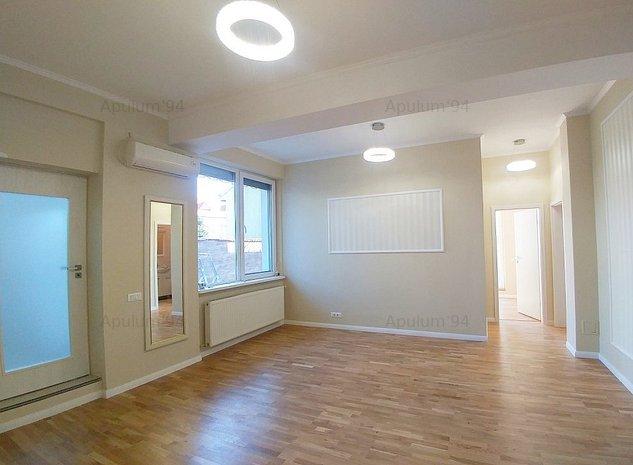 Apartament cu 3 camere | Terasa 60 mp | Damaroaia - Metrou Jiului 5 min - imaginea 1