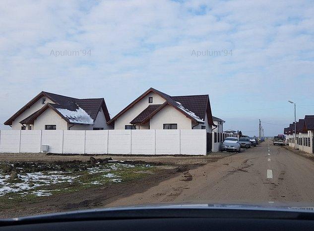 Vila Individuala Parter 4 camere Pod Mansardabil, Domnesti - imaginea 1