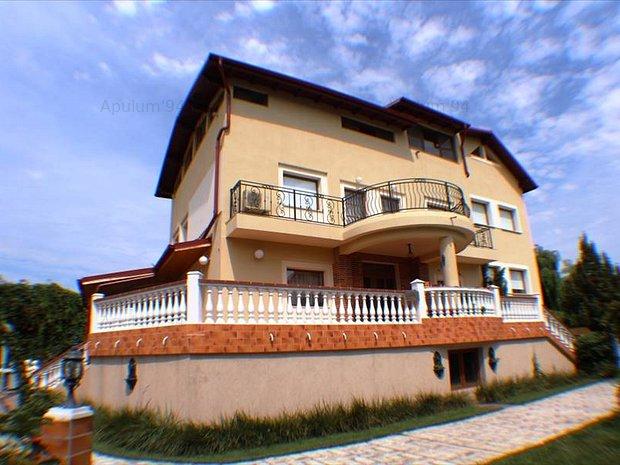 Vila 11 camere | Teren 1400mp | Baneasa- Antena 1 ( in zona fostului sediu) - imaginea 1